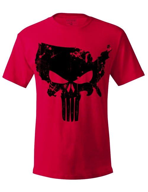 Image of Legendary American American Punisher Tee