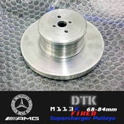 Image of DTK - M113k Mercedes AMG FIXED Supercharger Pulleys
