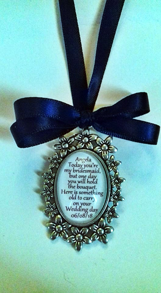 Image of Flower girl or bridesmaid pendant