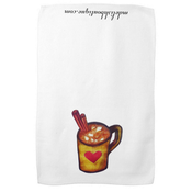 Image of Hot Chocolate Coffee Tea Towel