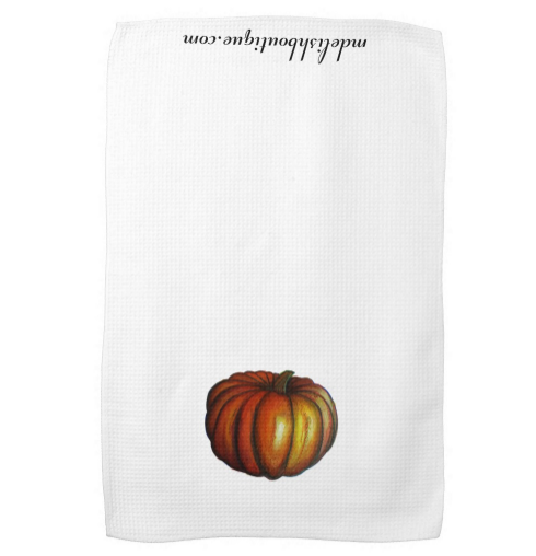 Image of Pumpkin Tea Towel