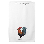 Image of Rooster Tea Towel