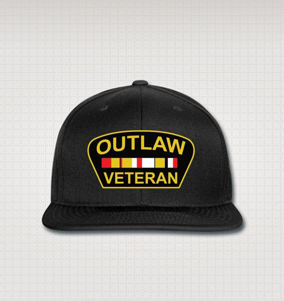 Image of Outlaw Veteran Snapback Hat