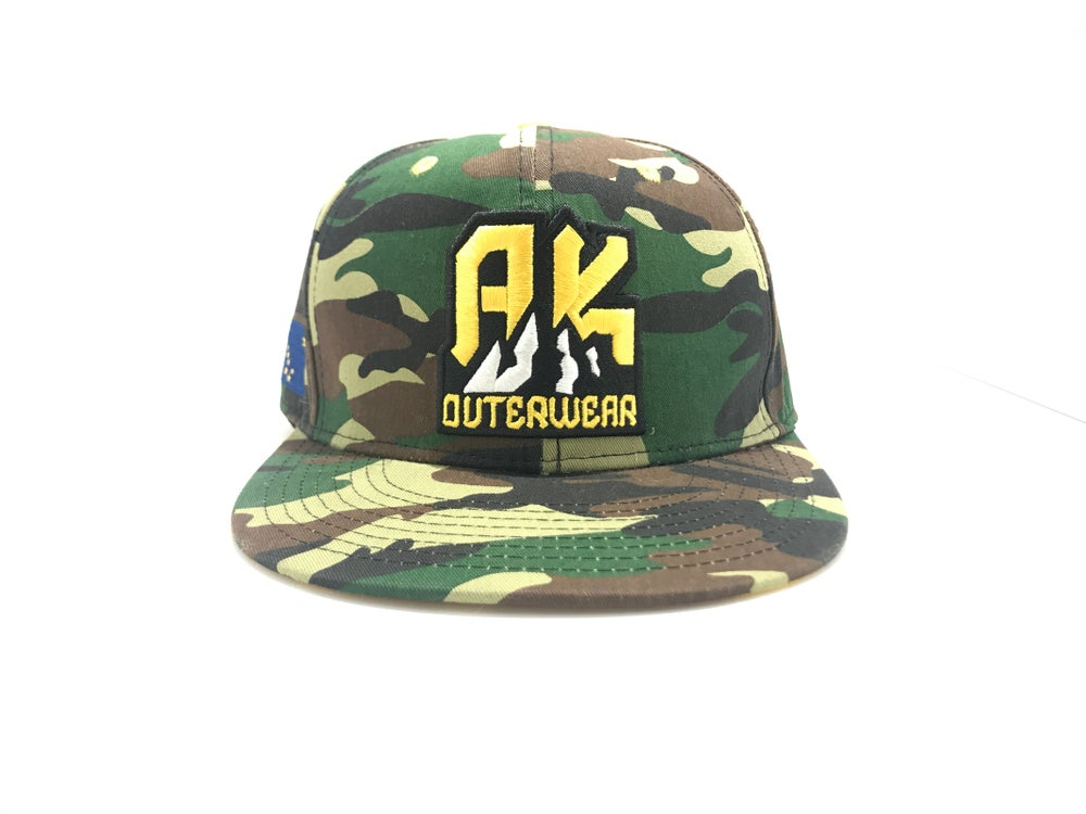 "Image of AK OUTERWEAR ""THE ORIGINAL"" SNAPBACK 