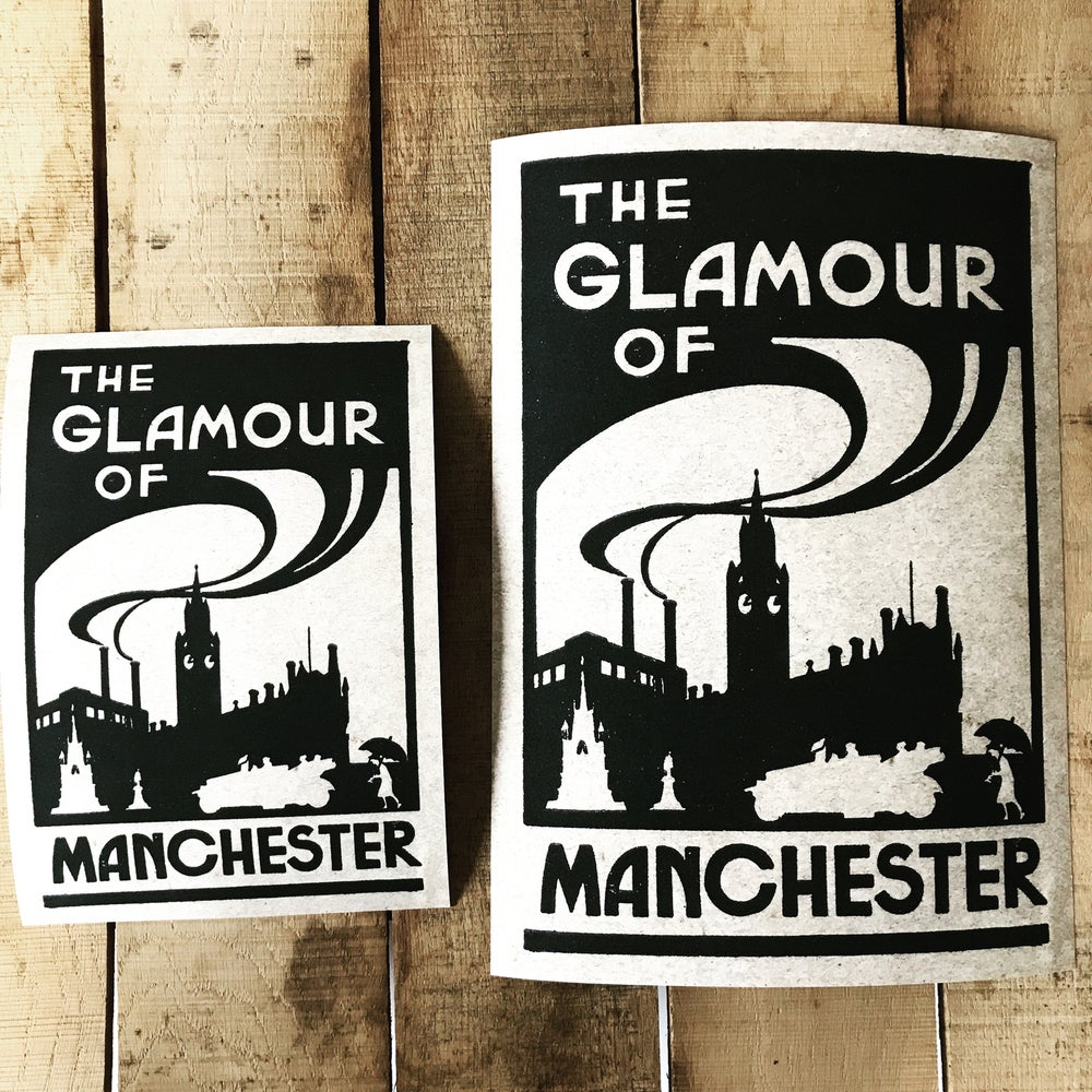 Image of The Glamour of Manchester Art Print