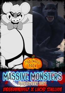 Image of Massive Monsters - Halloween Artpack 2017