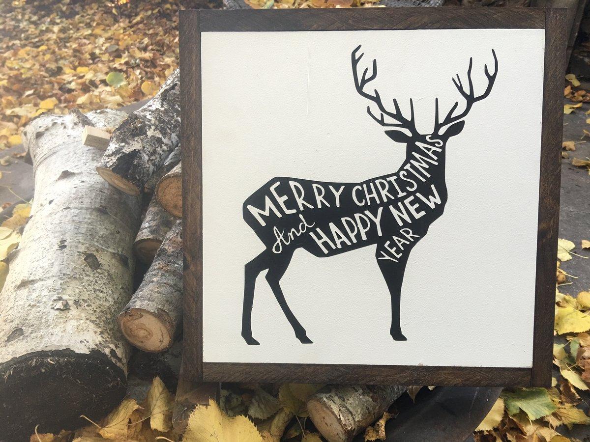 Image of Merry Christmas Deer