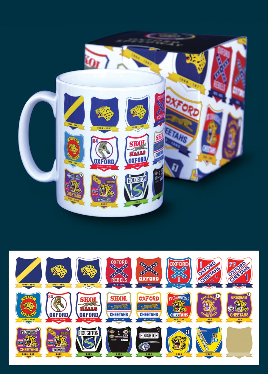 Image of Oxford Speedway Race Jackets Mug