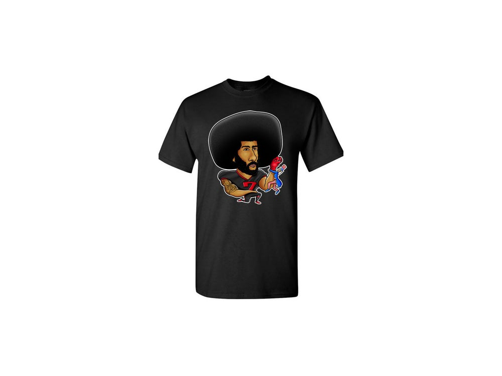"""Image of PREORDER-LIMITED EDITION-""""DON'T STAND FOR SAM""""- KAEPERNICK SHIRT"""