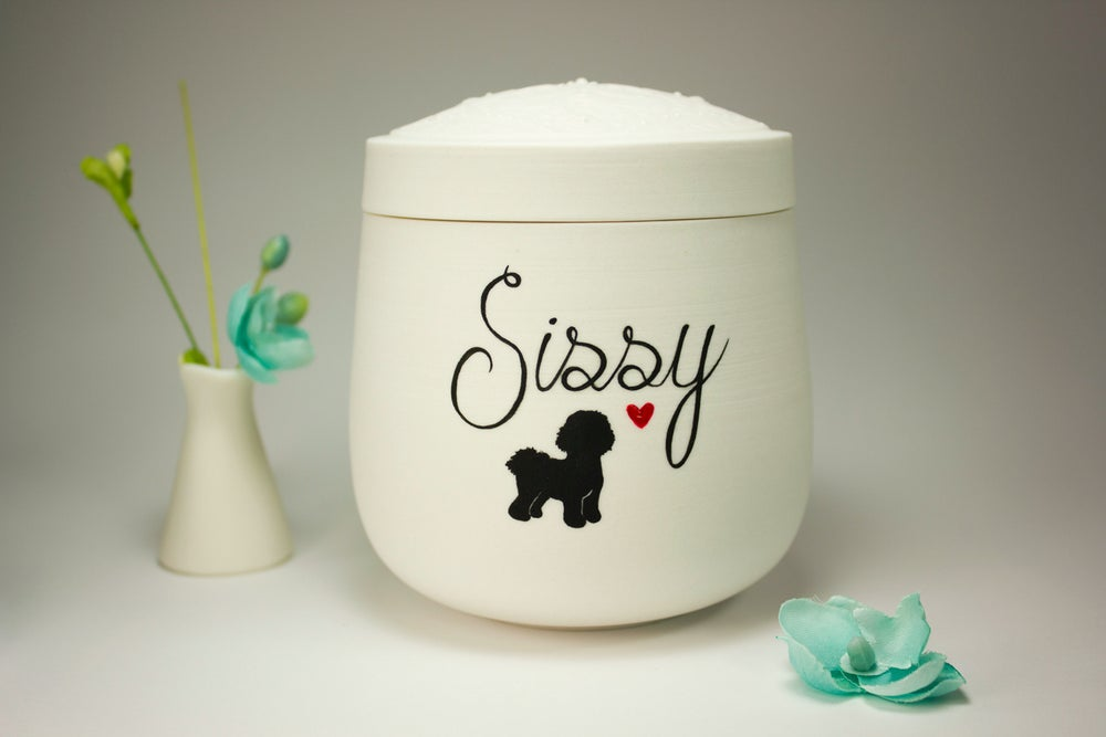 Image of Sweet Shadow Small Dog Urn