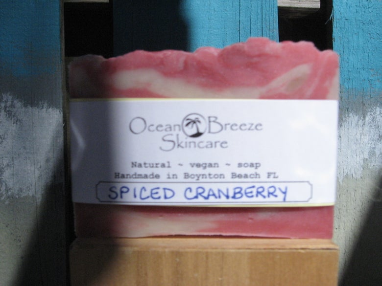 Image of Spiced Cranberry Soap