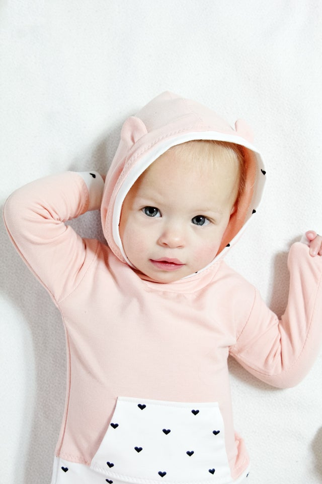 Image of GEMINI baby hoodie + joggers set PDF Pattern