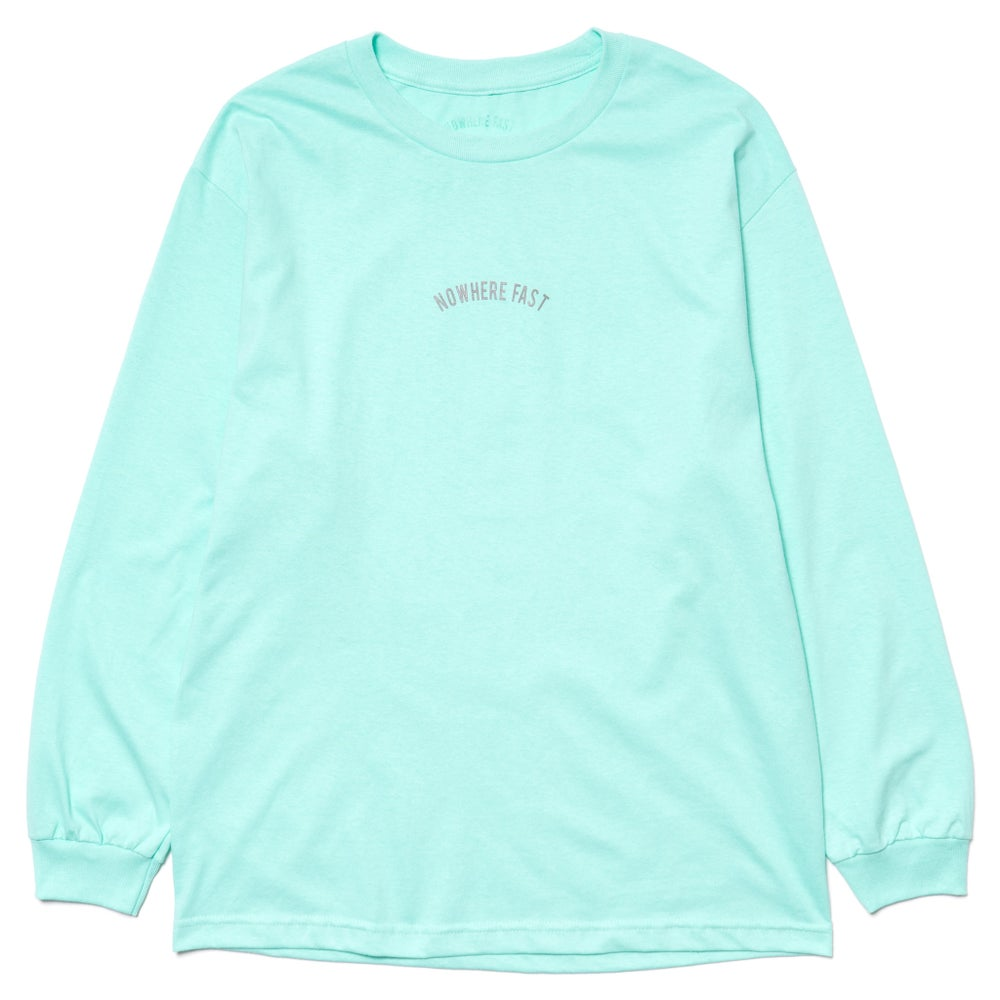Image of Bebas Long Sleeve T, Celadon.