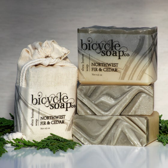 Image of Northwest Fir & Cedar Shea Butter Soap