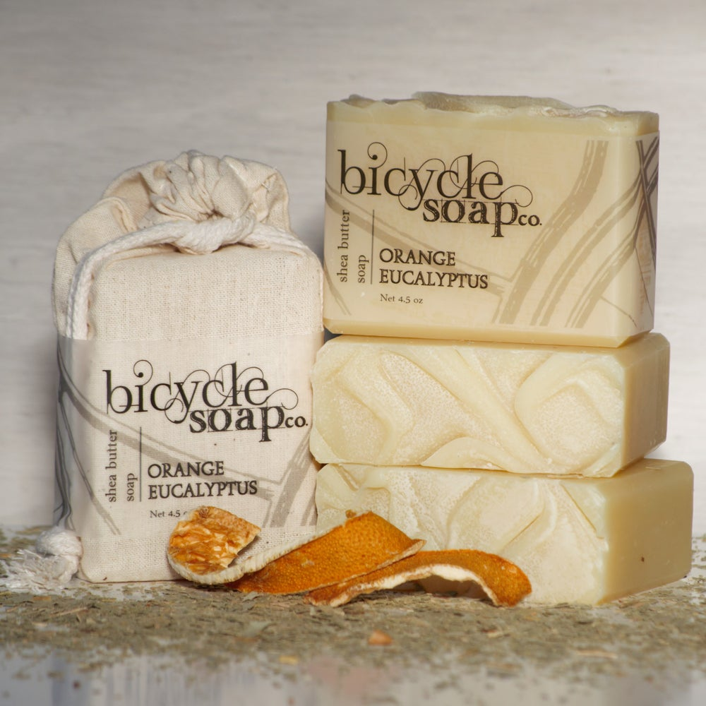Image of Orange Eucalyptus Shea Butter Soap