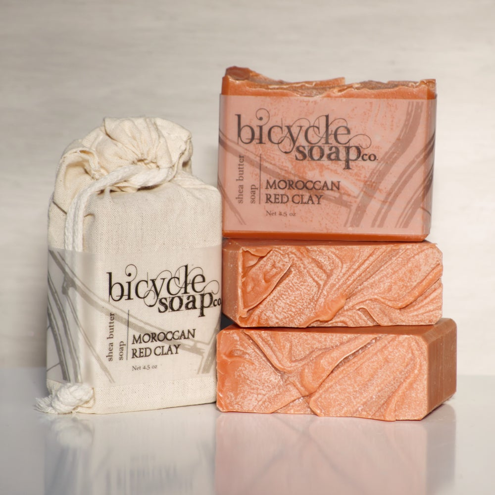 Image of Moroccan Red Clay Shea Butter Soap