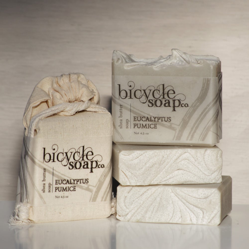 Image of Eucalyptus Pumice Shea Butter Soap
