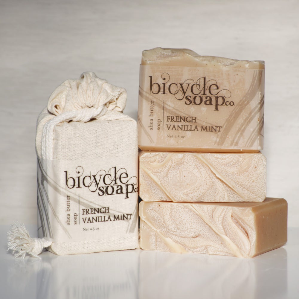 Image of French Vanilla Mint Shea Butter Soap