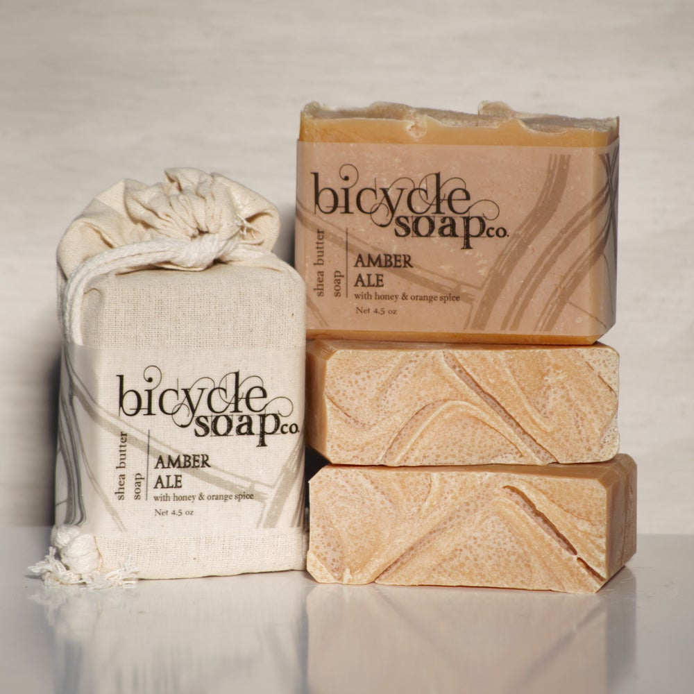 Image of Honey Orange Spice Amber Ale Shea Butter Soap