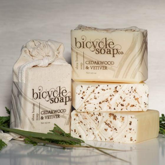 Image of Cedarwood & Vetiver Shea Butter Soap