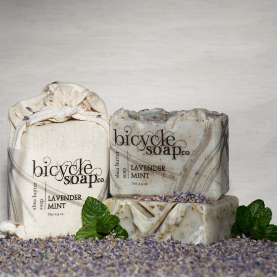 Image of Lavender Mint Shea Butter Soap