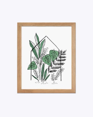 Image of Green House - art print