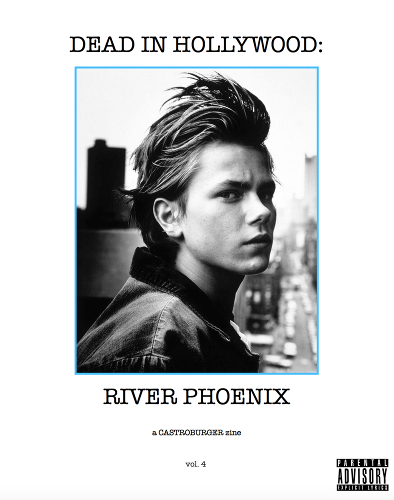 Image of Dead in Hollywood: River Phoenix (issue #4)
