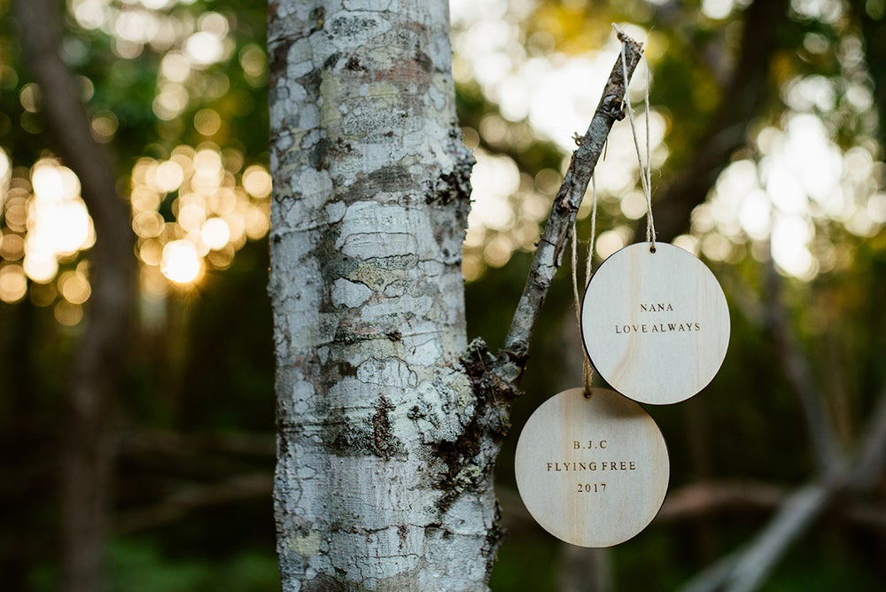 Image of REMEMBERING THOSE WE HAVE LOST | RAW WOOD ORNAMENT