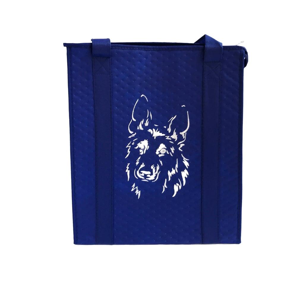 Image of German Shepherd Dog Insulated Shopping Bag