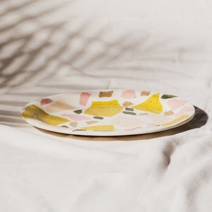 Image of TERRAZZO PARTY PLATTER - OVAL