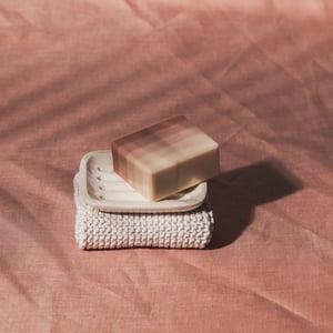 Image of STONEWARE SOAPDISH