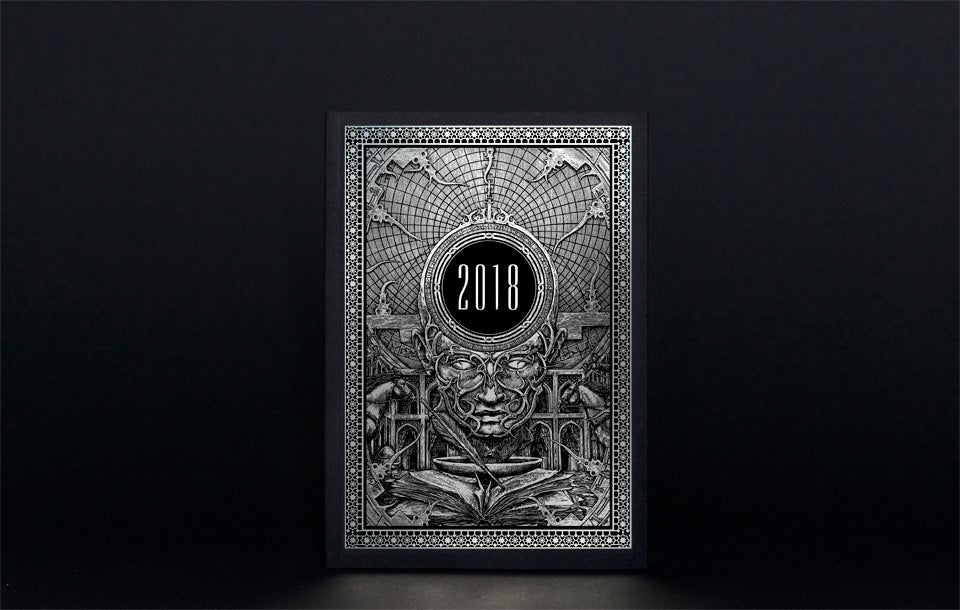 Image of The 2018 Zbigniew M. Bielak Art Calendar