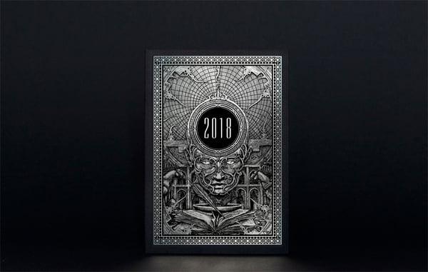 Image of The 2018 Zbigniew M. Bielak Art Calendar