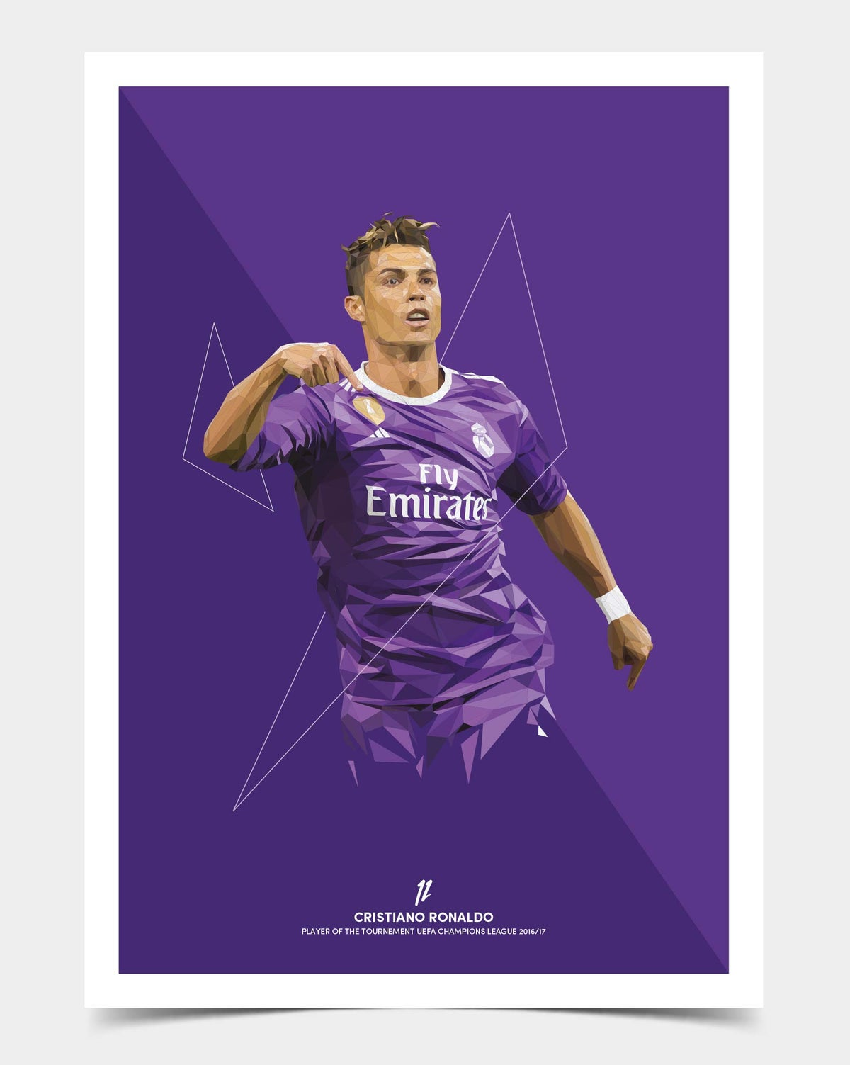 Image of Ronaldo Limited Edition UEFA Champions League