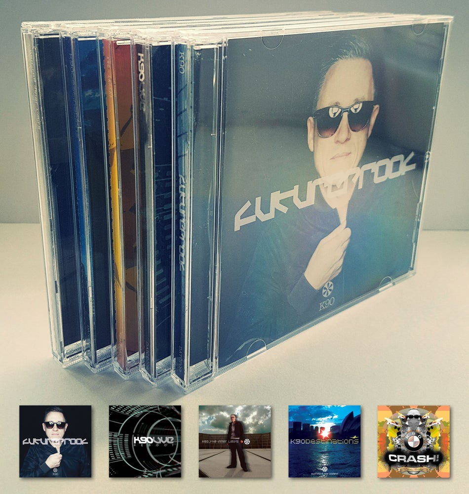 Image of K90 - 5 CD COLLECTORS SET WITH FREE WORLDWIDE SHIPPING!