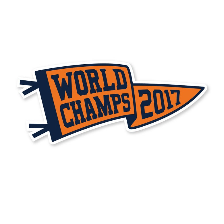 Image of 2017 World Champs Sticker