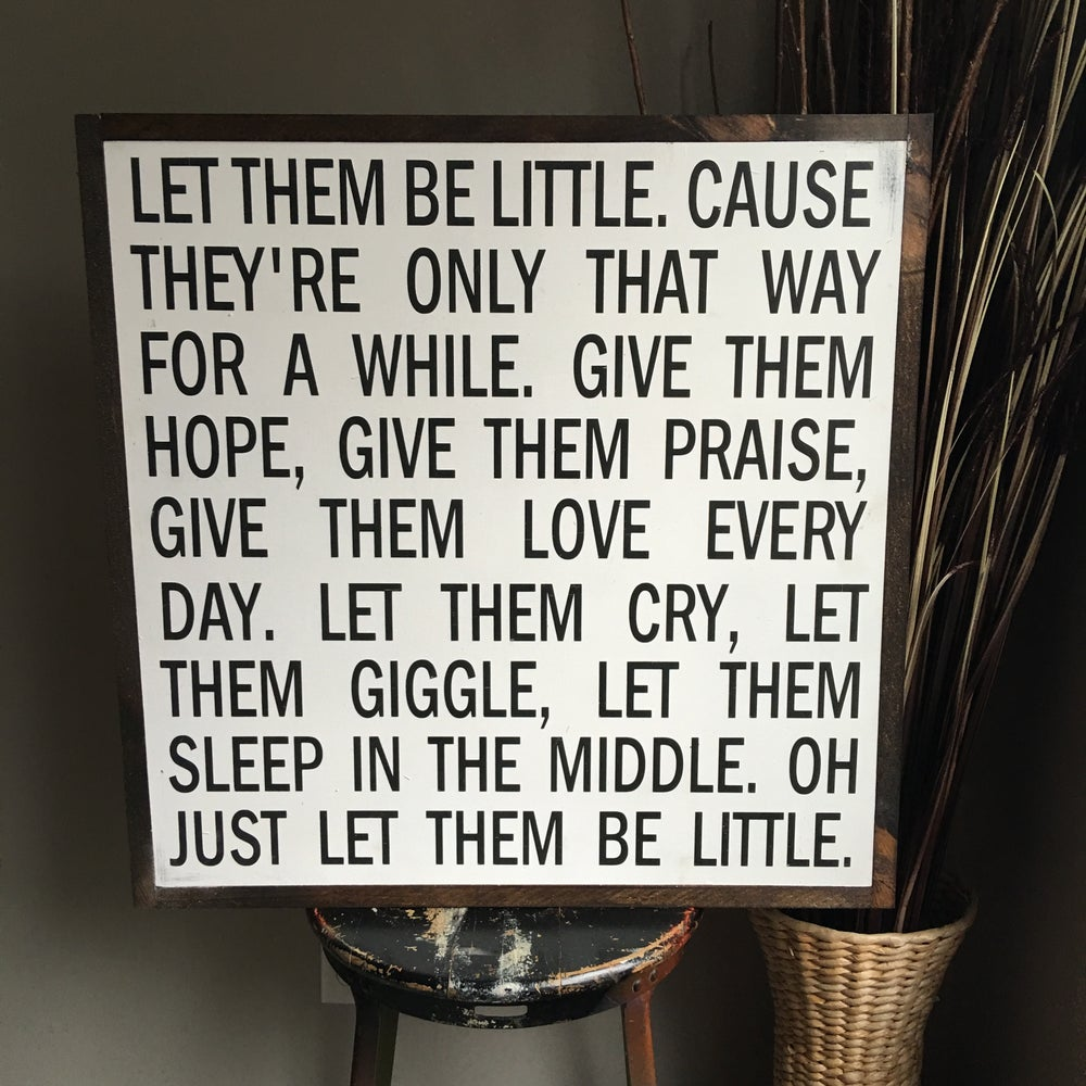 Image of Let Them Be Little