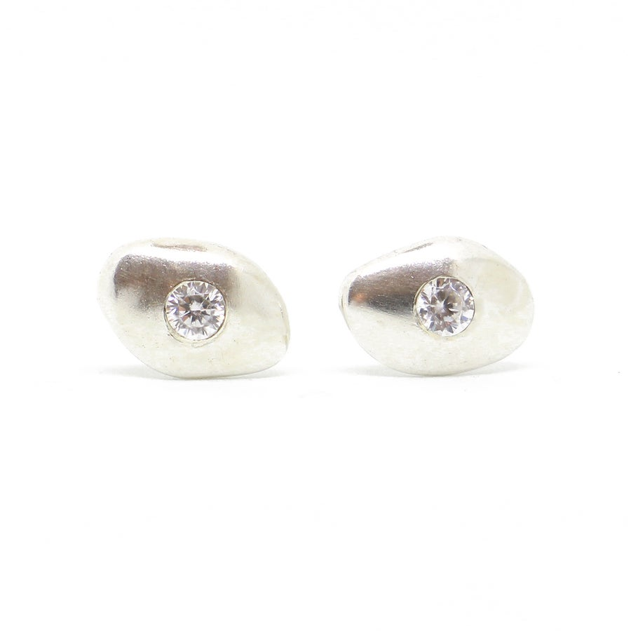 Image of Seneca Earrings in Silver