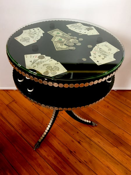 Image of Roosevelt Poker Table by the Divine Ms. M.