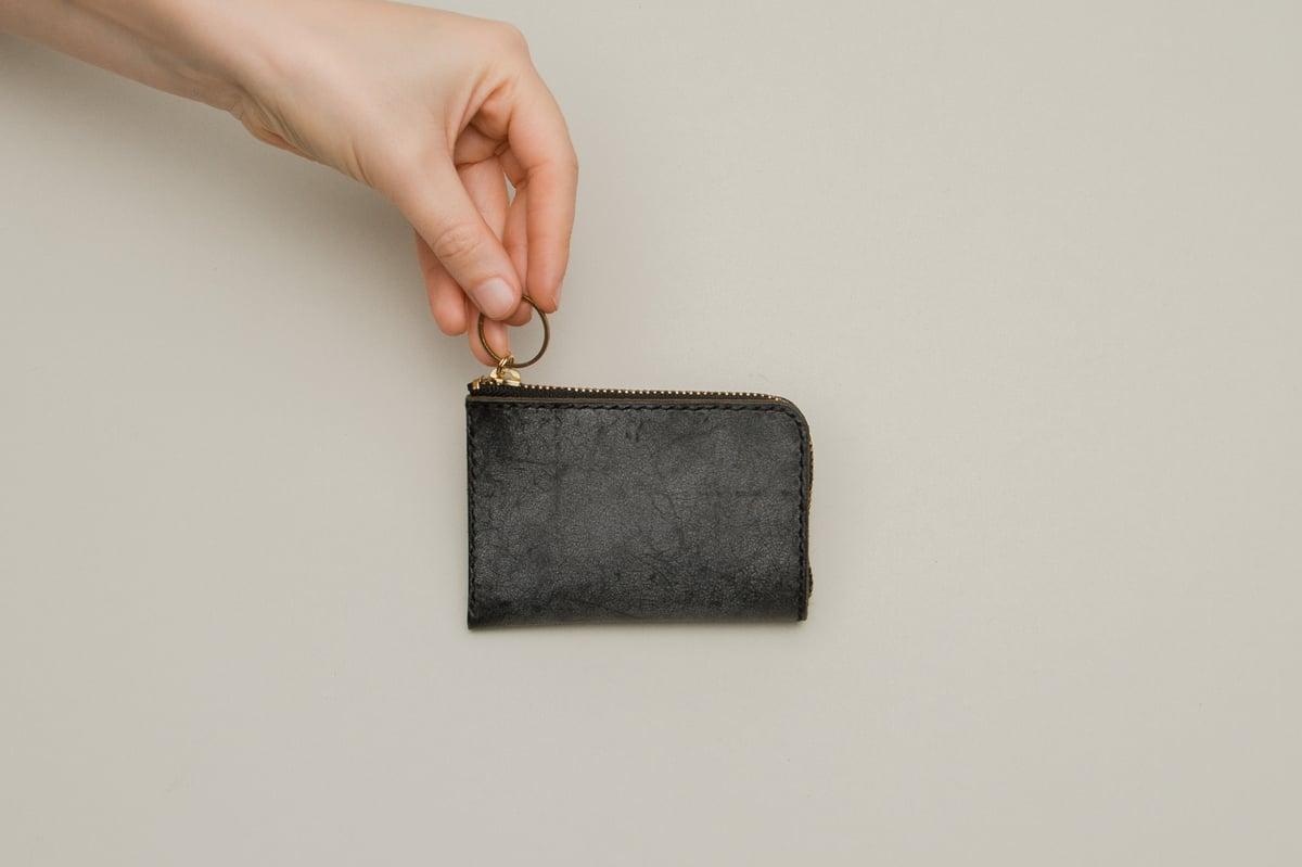 Image of Portmonee TOSH, klein vintage black