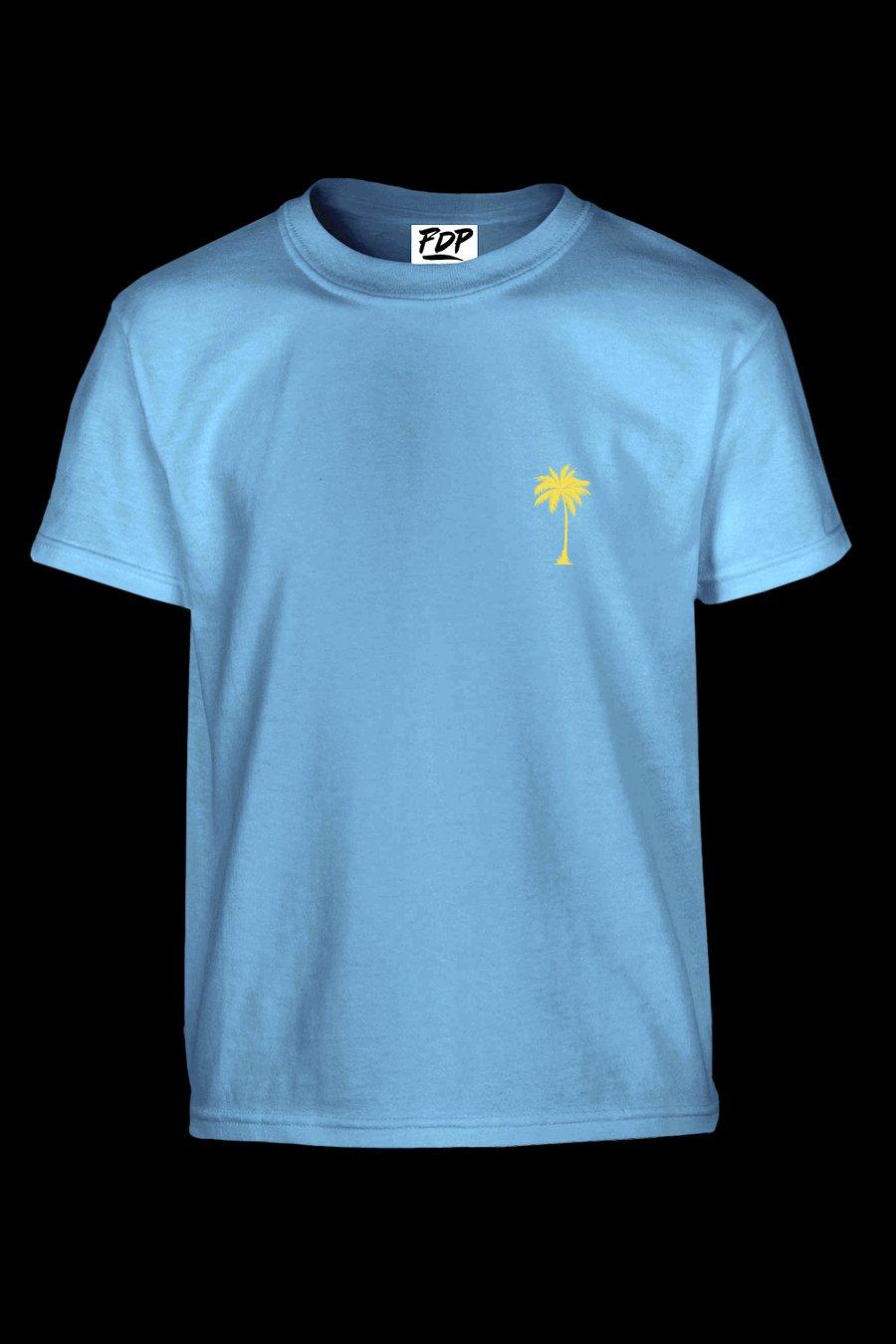 Image of FDP Tshirt Azure Unisex