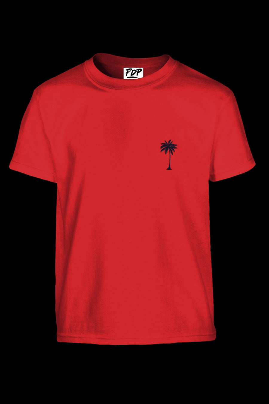 Image of FDP Tshirt Red Unisex