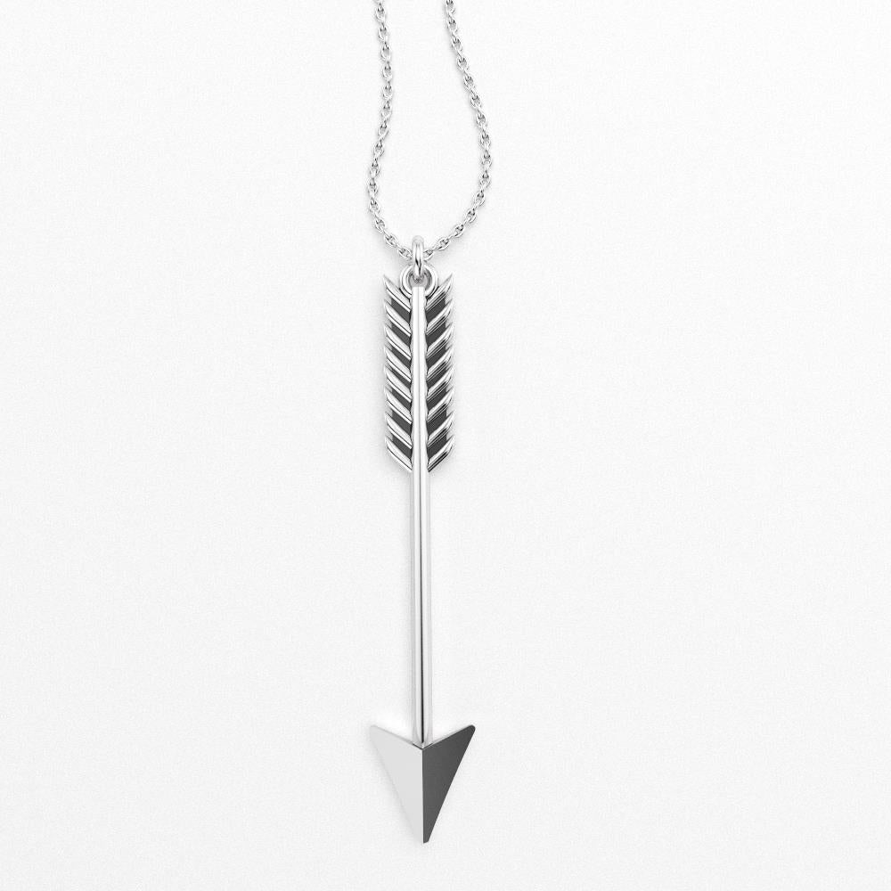 Image of Archer Charm Necklace