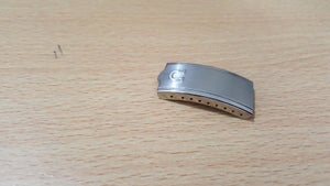 Image of OMEGA STAINLESS STEEL CLASP,FOR GENTS STRAP,16MM,( CL-1 )