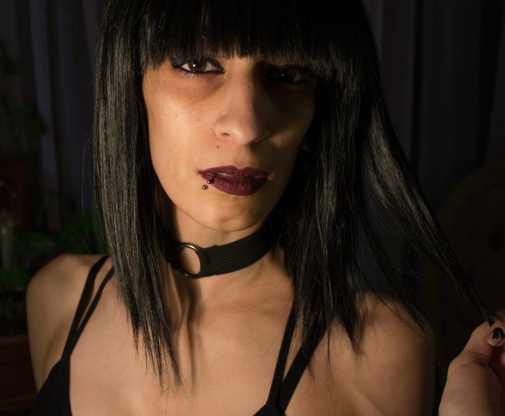 Image of Black Delilah Choker