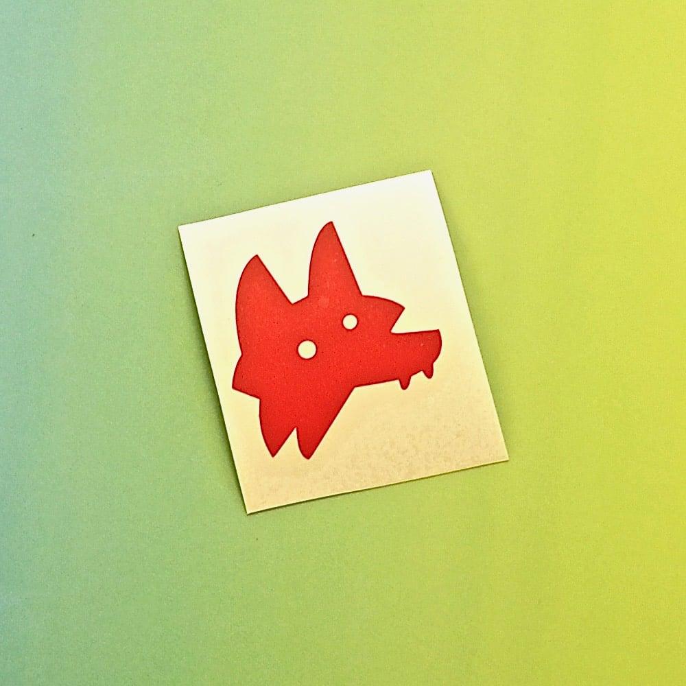 Image of Little Wolf sticker