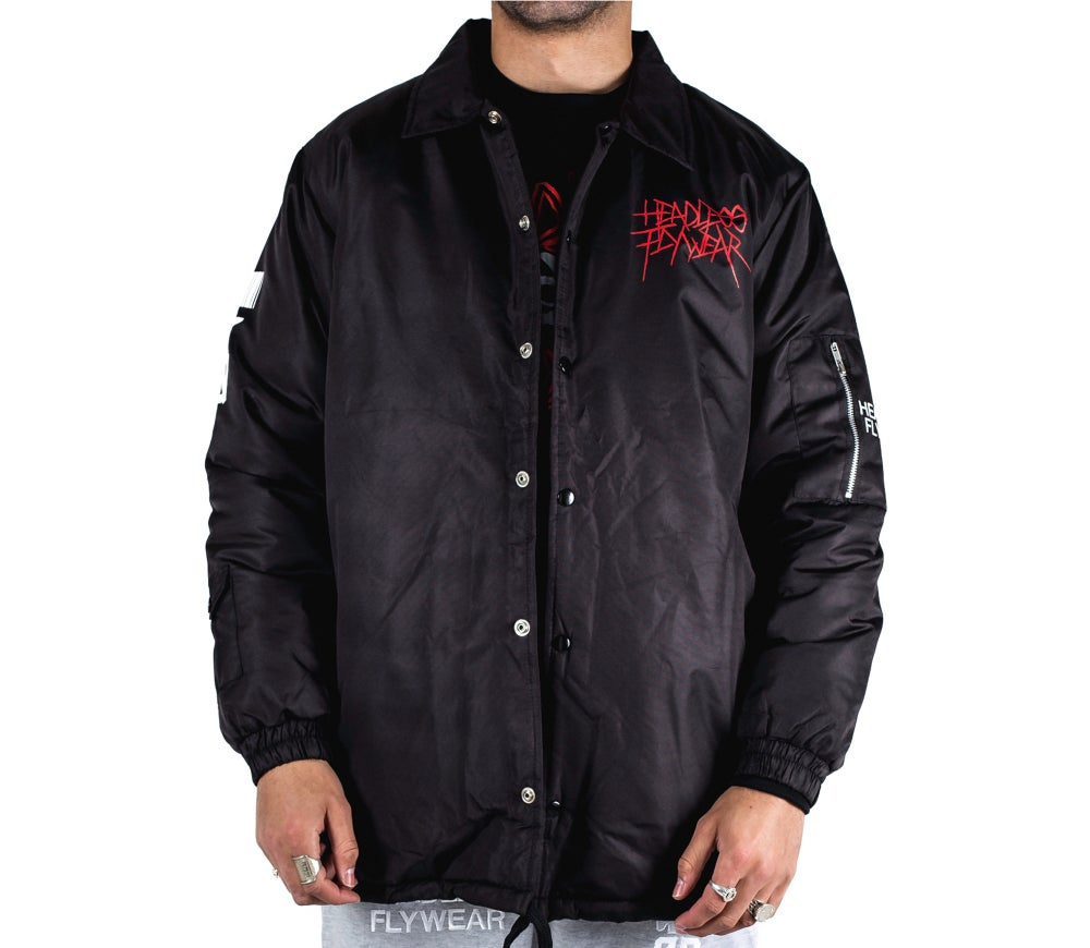 Image of 'Fly or Die 2X' Coach Jacket