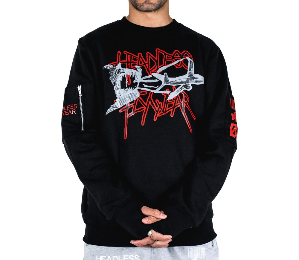 Image of 'Fly or Die 2' Crewneck Sweatshirt
