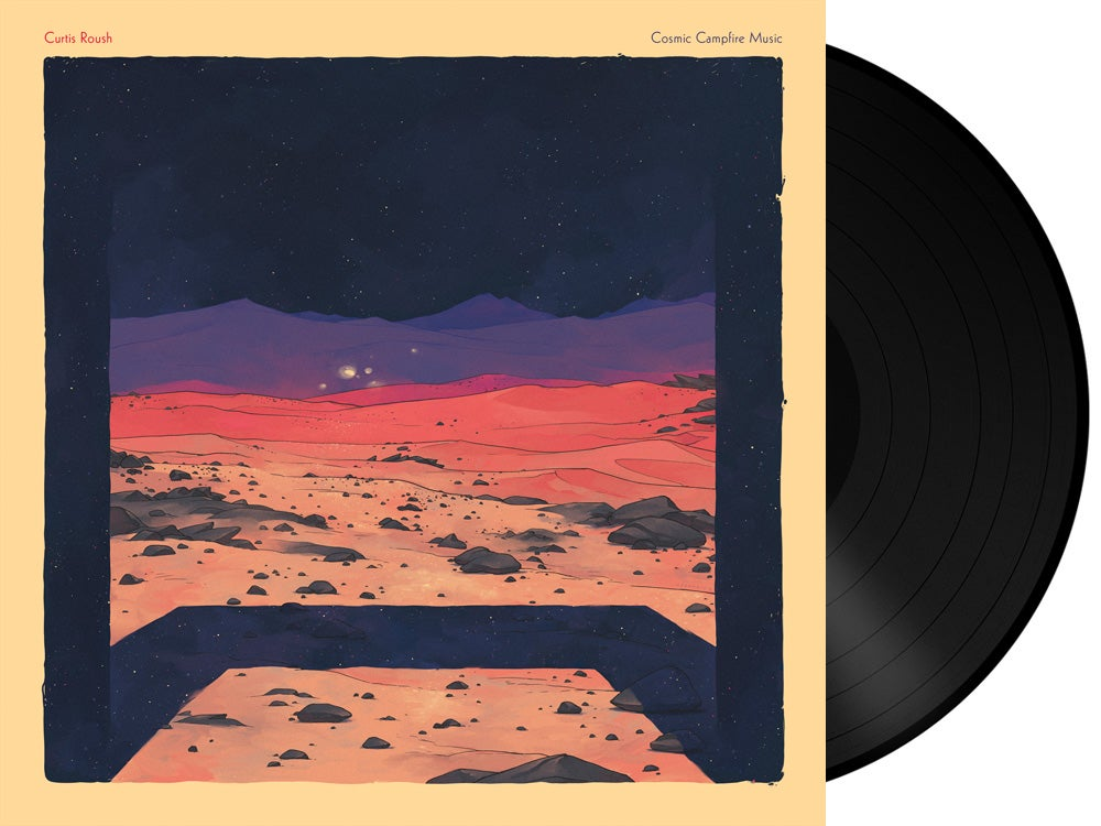 Image of Curtis Roush - Cosmic Campfire Music LP + Download Card