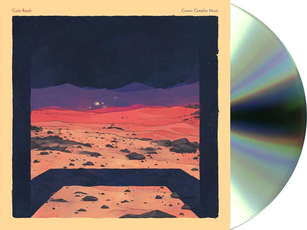 Image of Curtis Roush - Cosmic Campfire Music CD